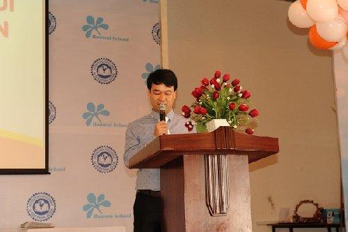 Giám Đốc Trần Xuân Thủy đọc khai mạc kỳ thi HSG Quốc Gia Soroban 2014